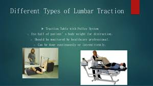 what is a traction table cervical and lumbar traction