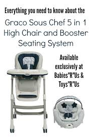 High Chairs At Babies R Us Graco Sous Chef 5 In 1 High Chair And Booster Seating System