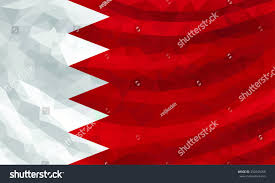 Poly Flag Low Poly Flag Bahrain Stock Vector 332043050 Shutterstock