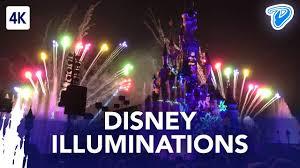 disney illuminations disneyland paris full show 4k 25th