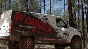 nissan cargo van 4x4 nissan built a cummins powered off road cargo van youtube