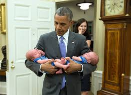 photo blog u2013 barack obama u0026 the littlest citizens