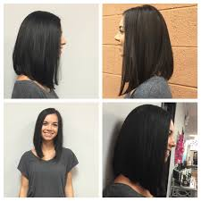 slanted hair styles cut with pictures long angled bob my portfolio pinterest bobs hair style and