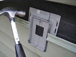 Outdoor Light Fixture With Outlet by Electrical Installing A Exterior Light In Existing Vinyl Siding