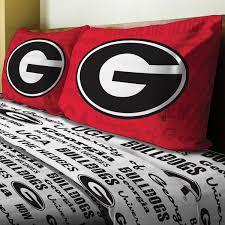 Georgia Bulldog Home Decor by Ncaa Georgia Bulldogs Bedding Obedding Com