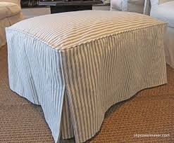 Ottoman Slipcovers Pottery Barn Best 25 Sectional Slipcover Ideas On Pinterest Sectional Couch