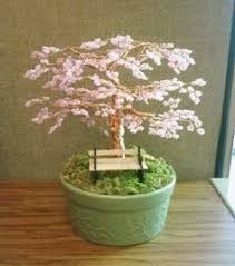 bonsai beaded tree home decor wire trees and app
