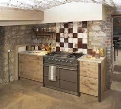 cuisine bois rustique design d intérieur cuisine cagnarde en bois moderne rustique