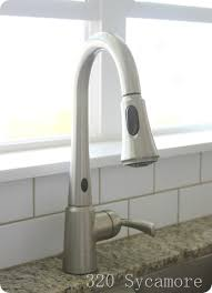 Motionsense Faucet The Kitchen 320 Sycamore
