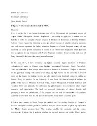 motivation letter motivational letter for student visa