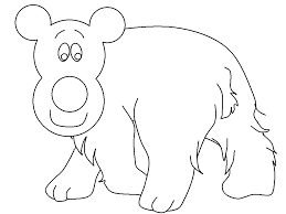 polar bear coloring pages coloring pages