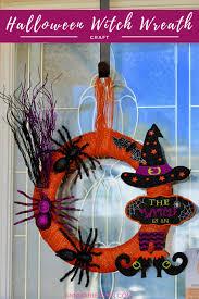 Halloween Witch Wreath by Diy Dollar Store Halloween Witch Wreath Annmarie John