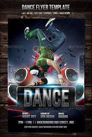 free dance flyer templates stackerx info