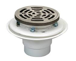 proflo pvc adjustable shower drain with heavy duty strainer