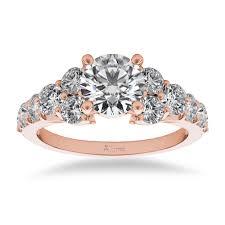 luxury engagement rings diamond engagement ring luxury setting 14k gold 1 00ct allurez