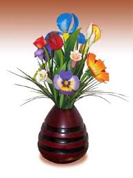 Wooden Flowers Dm Wooden Flowers And Vases Wooden Flower Arrangements