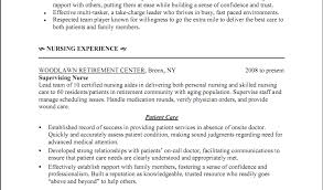 canadian resume wound care nurse cover letter