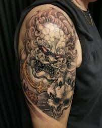 11 best dog tattoos images on pinterest cover up draw and foo dog