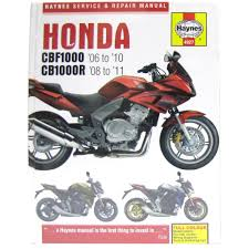 mitsui yamaha limited workshop manual honda cbf1000 06 10