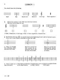clarinet note speller clarinet method j w pepper sheet music