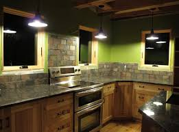 rustic kitchen light fixtures kitchen rustic pendant kitchen lighting with green kitchen wall
