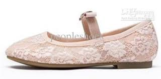 luxury style girls shoes pink color special lace pattern