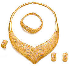 set of gold cheap women s jewelry online women s jewelry for 2018