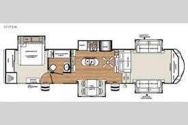 Fifth Wheel Floor Plans Front Living Room New 2018 Forest River Rv Sandpiper 377flik Fifth Wheel At Big