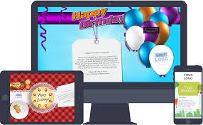 branded birthday ecards for business ekarda