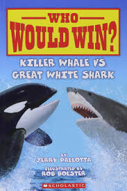 who would win killer whale vs great white shark jerry pallotta
