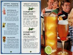 Mix Southern Comfort With 50 Drinks U0026 Toasts 1968 Click Americana