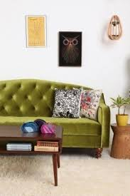 Yellow Sleeper Sofa Yellow Tufted Sofa Foter