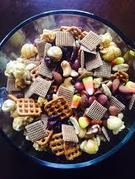 Thanksgiving Trail Mix Food Tixeretne