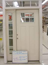3 Panel Exterior Door Appealing Therma Tru Doors Fiberglass Entry Door Systems Smooth