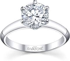 6 prong engagement ring vatche six prong engagement ring in platinum u 113