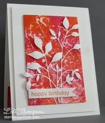 105 best handmade cards leaves images on pinterest cards fall