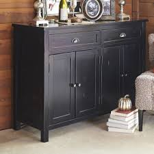 Black Buffet Table Torrance Rubbed Black Buffet Table Pier 1 Imports