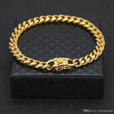 box link bracelet images 2018 hiphop 7mm gold cuban link bracelet for men top quality jpg