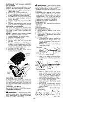 warning mcculloch mc3516 user manual page 16 20