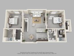 the pointe at cabot 2 bedroom 2 bath maple loft floor plan