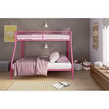 dorel twin over full metal bunk bed multiple colors walmart com