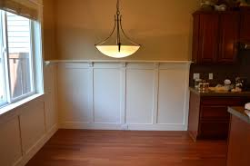 craftsman wainscot craftsman dining room portland by