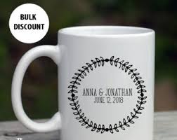 personalized mugs for wedding mug wedding favors etsy