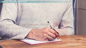 biography interview questions for high school students how to write a biography lesson for kids video lesson