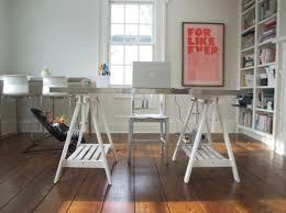 Ikea Sawhorse Desk Comfort Knows No Limits U2013 Height Adjustable Desk Designs