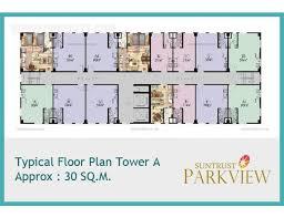 Parkview Floor Plan U20b1 2 561 116 2 Bhk At Suntrust Parkview In Ermita Condo For