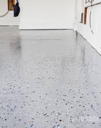 diy garage floor tutorial rocksolid polycuramine pink