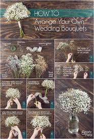 How To Make Wedding Bouquets Diy Baby U0027s Breath Wedding Bouquets Smarty Blog