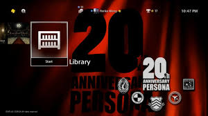 video persona 20th anniversary dynamic theme free on jp link in