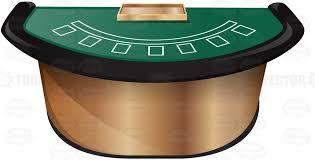 Black Jack Table by Professional Luxury Blackjack Table Display